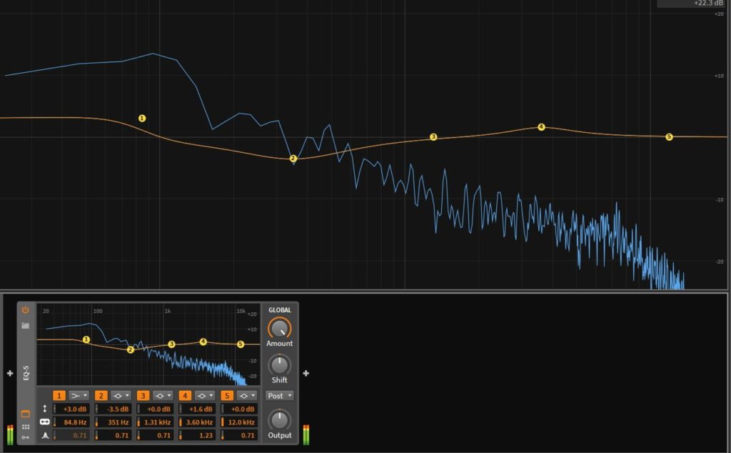 Bitwig Studio EQ-5