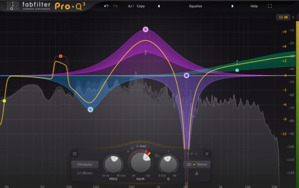 Fabfilter Pro Q3 Use It For Making Room In The Low End Of Your Mix