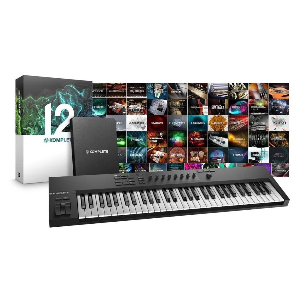 Native Instruments Komplete Kontrol A61 with Komplete 12Over 25,00 sounds with 50+ products and 220GB of content£439.005 in stock
