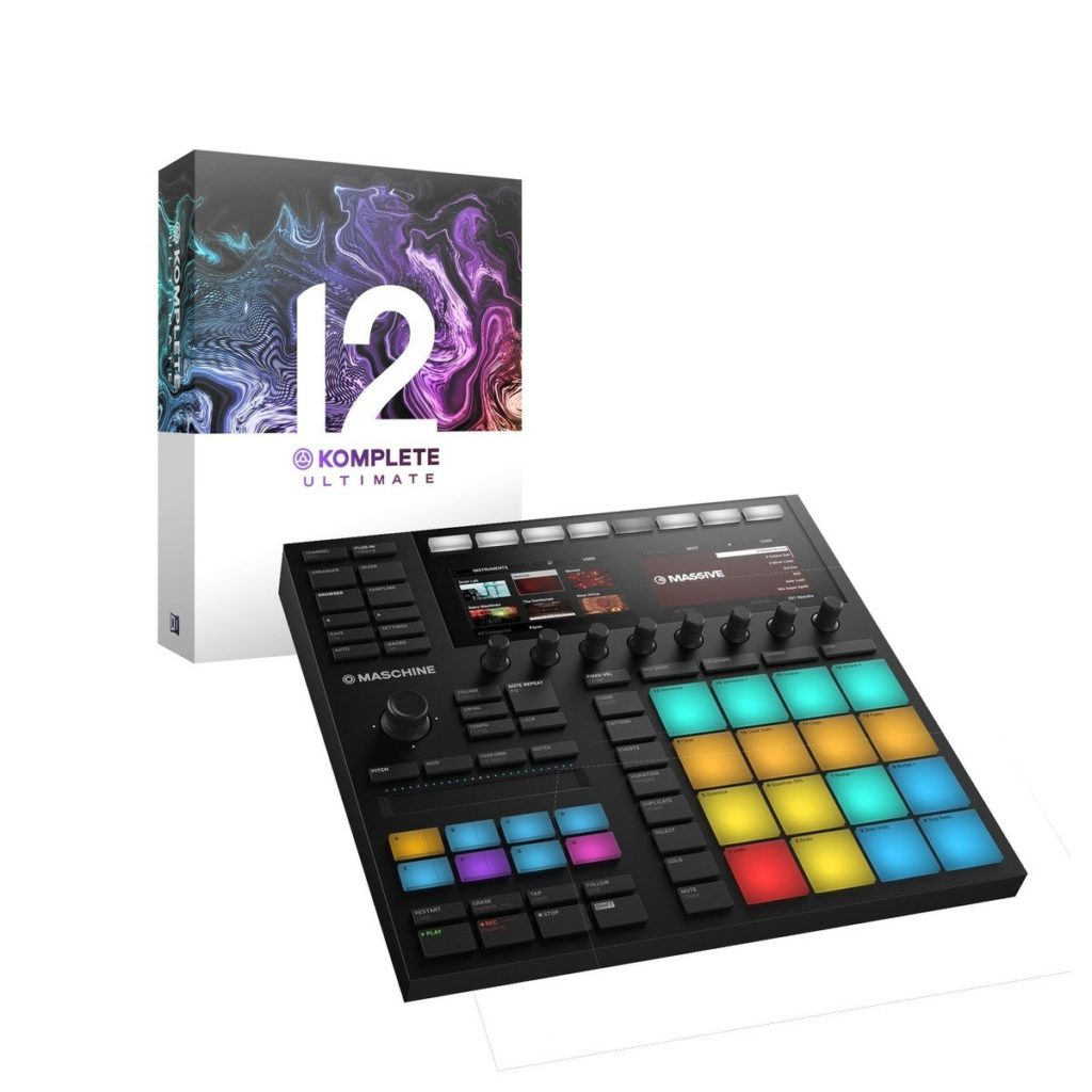 Native Instruments Maschine MK3 with Komplete 12 UltimateNow featuring Massive X - an exploration into the future of sound design £882.004 in stock