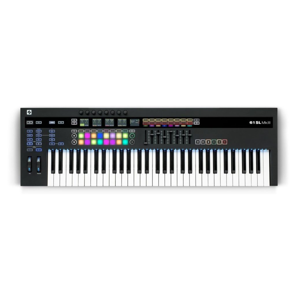 Novation 61SL MKIII CV-Equipped Controller Keyboard61-note controller keyboard with semi-weighted keybed£554.002 in stock