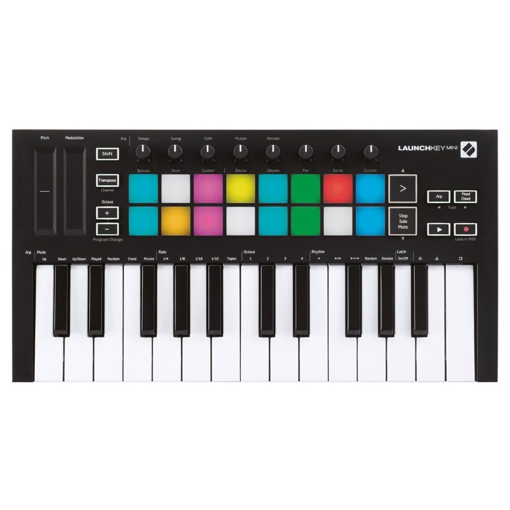 Novation LaunchKey Mini MK3New version of the legendary MIDI controller which brings range of new features£97.0020+ in stock
