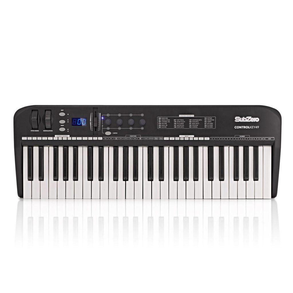 SubZero ControlKey49 MIDI Keyboard49 touch-sensitive keys£59.9920+ in stock