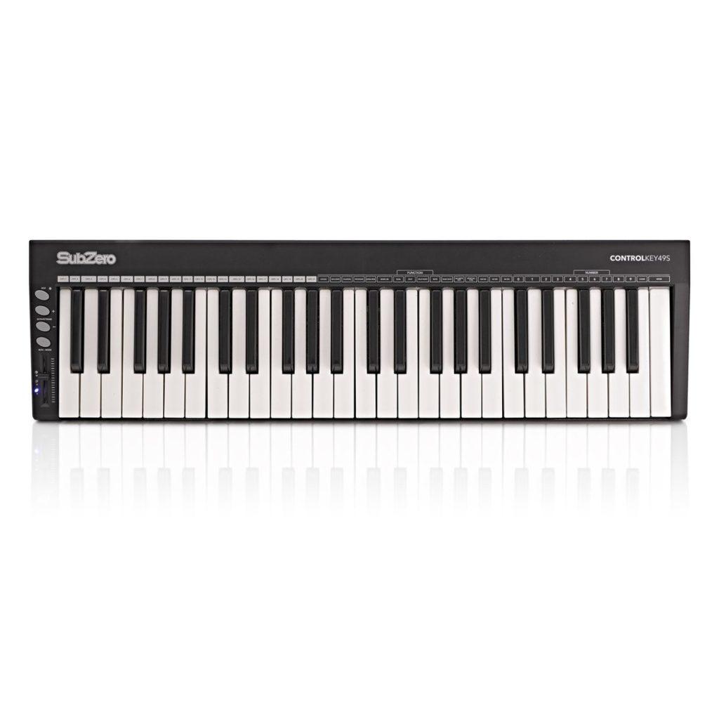 SubZero ControlKey49S 49 Key Slim MIDI Controller Keyboard49 touch-sensitive keys£49.9920+ in stock