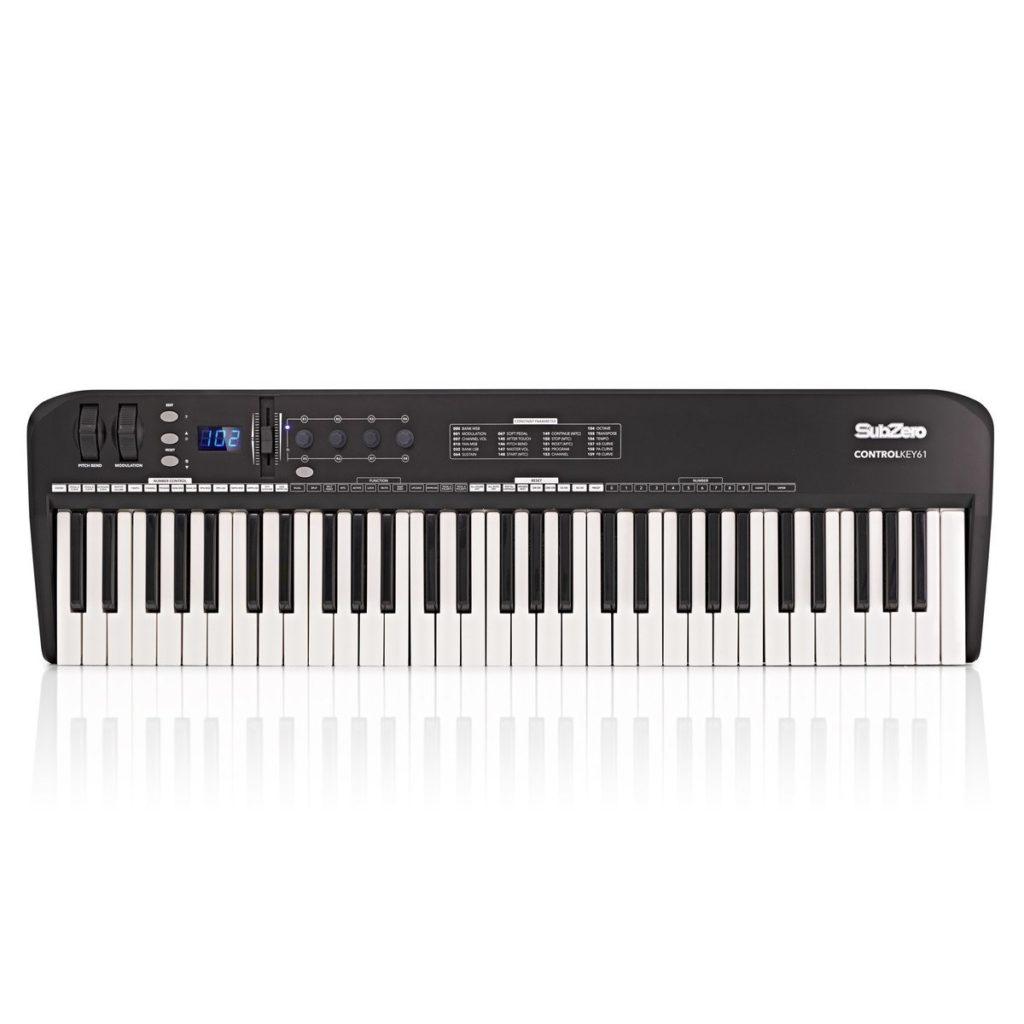SubZero ControlKey61 MIDI Keyboard61 touch-sensitive keys£79.9920+ in stock