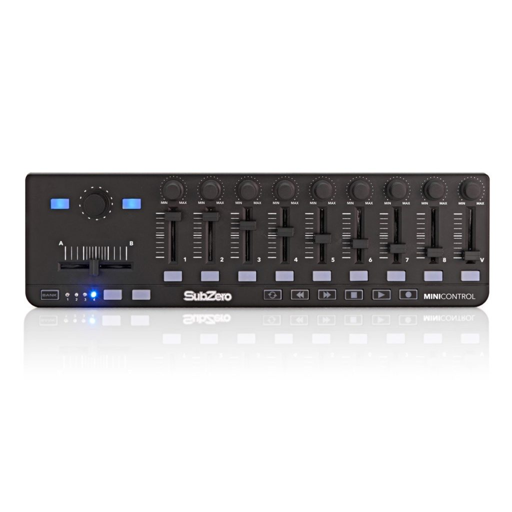SubZero MiniControl MIDI Controller9 assignable sliders, knobs and buttons £34.9920+ in stock