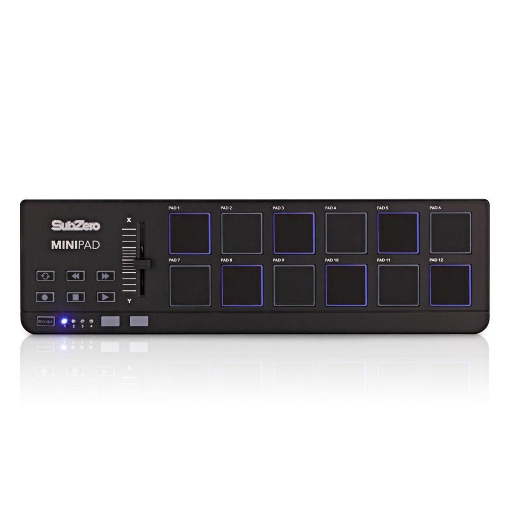 SubZero MiniPad MIDI Controller12 Backlit, Velocity-Sensitive Pads£34.9920+ in stock