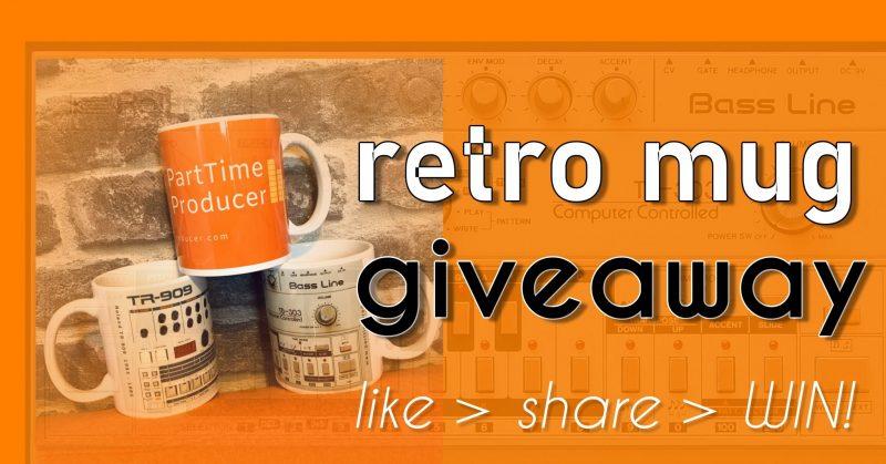 parttimeproducer retro synth mug giveaway