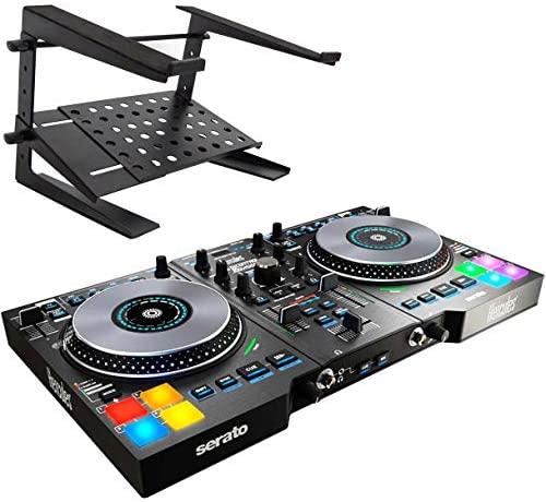Hercules DJControl Jogvision USB DJ Controller + Keepdrum HA-LS20 Laptop Stand