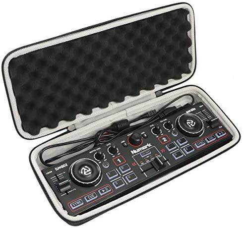 Khanka Hard Travel Case for Numark DJ2GO2 Ultra-Portable Two-Channel DJ Controller.(case only)