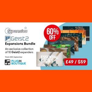 FXpansion Geist2 Expansions Bundle (Exclusive)