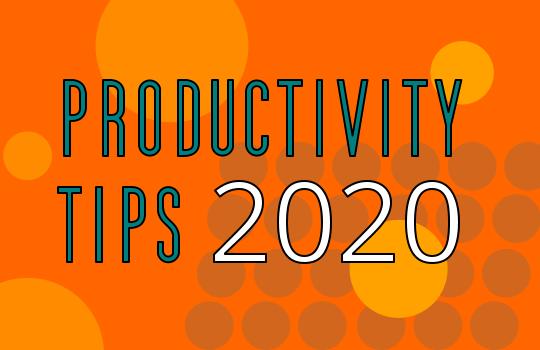 produtcivity tips for music production