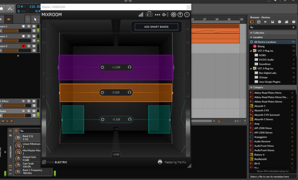 Mastering The Mix Eq - Intelligent And Versatile Eq Plugin