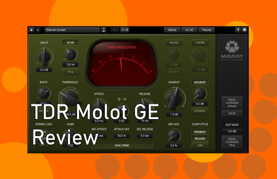 TDR Molot GE review from parttimeproducer