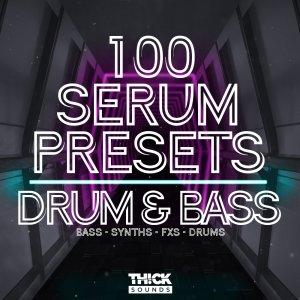 100 Serum Presets - Drum & Bass