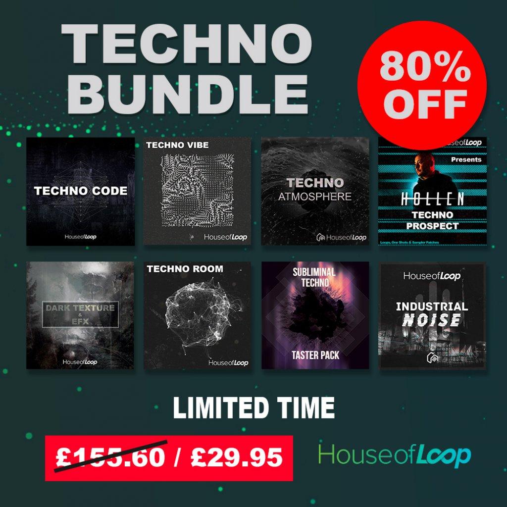 House Of Loop Techno Bundle 2020