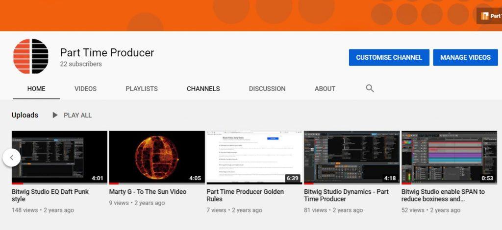 Bitwig Hacks #1 Youtube Channel