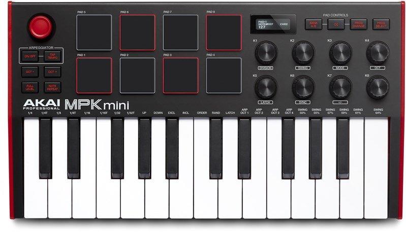 Akai Professional Mpk Mini Mk 3 Controller Keyboard