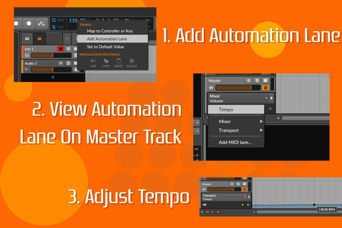 Bitwig Hacks #5 Automate Tempo