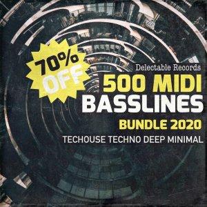 500 Midi Basslines Bundle
