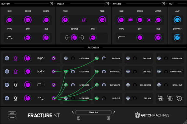 Glitchmachines Fracture Xt Review Settings