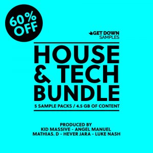 Get Down Samples Presents House & Tech Bundle