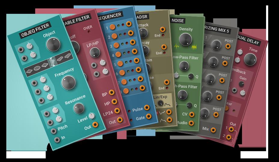 Multiphonics Cv-1 Modular Synthesizer Review Modulator Range