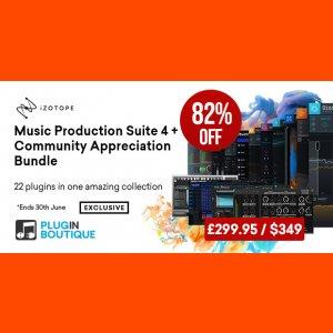 Music Production Suite 4 Bundle + Community Appreciation Bundle