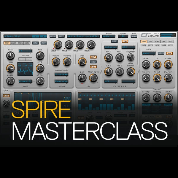 Learn Reveal Sound Spire in hours, not weeks. MAKE THE SOUNDS YOU WANT!