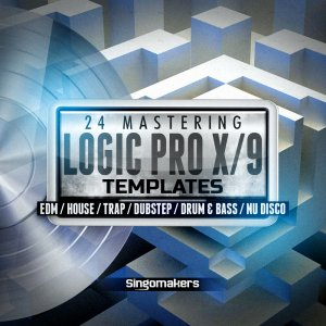 Logic Pro X/9 Mastering Templates