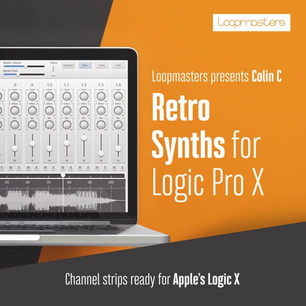 Essential Retro Synths for Logic X